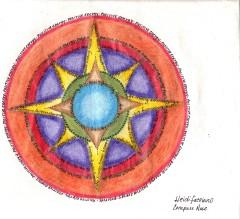 Personal Compass Rose by Heidi Facciano