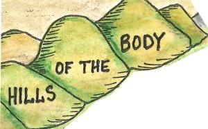 hills of body